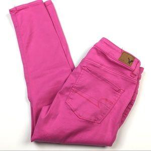 American Eagle HI-Rise Jegging Crop Skinny Jeans